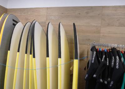 Alquiler de material de surf - Surfing Zumaia